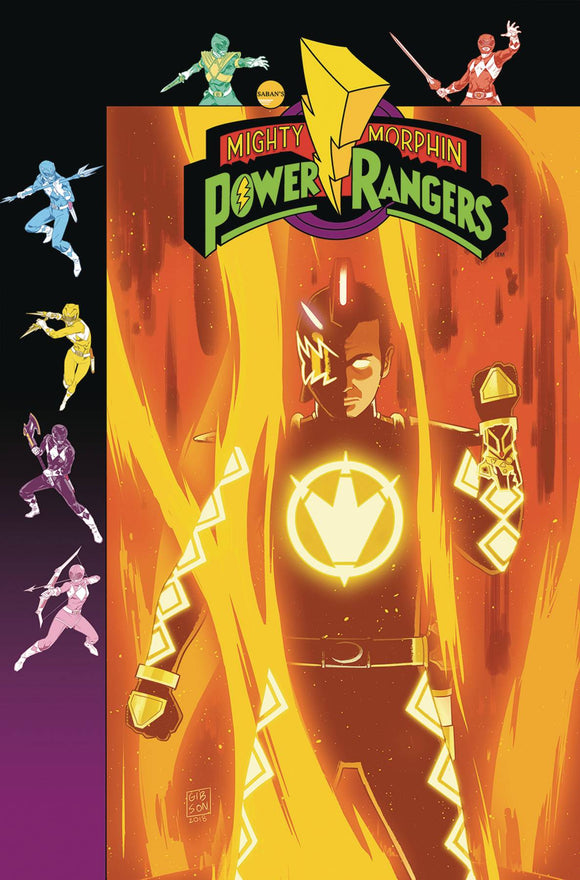 Mighty Morphin Power Rangers (2016) #33 (PREORDER GIBSON VAR SG)