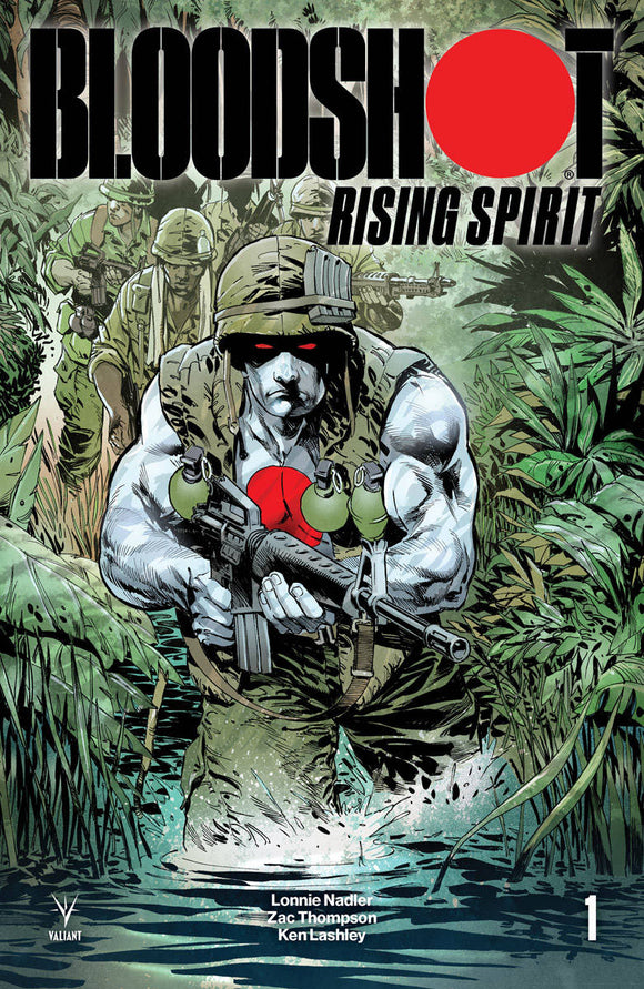 Bloodshot Rising Spirit (2018) #1 (CVR D 1:20 INCV JOHNSON)