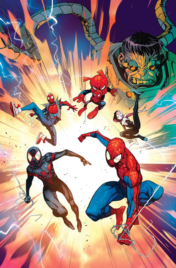 Spider-Man Enter the Spider-Verse (2018) #1