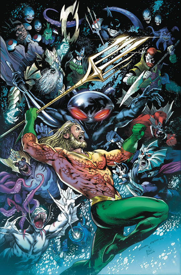 Aquaman (2016) #42 (DROWNED EARTH)