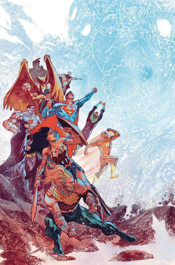 Justice League (2018) #11 (DROWNED EARTH)