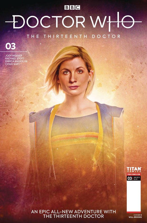 Doctor Who 13th (2018) #3 (CVR B BROOKS)