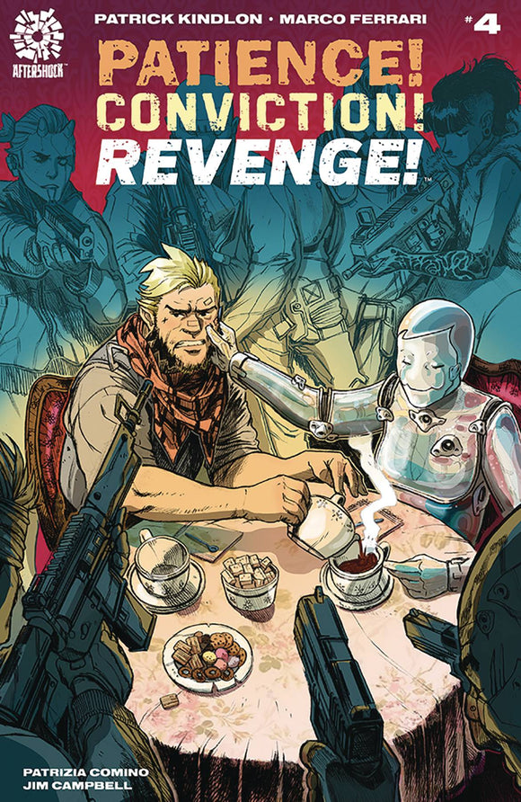 Patience Conviction Revenge (2018) #4