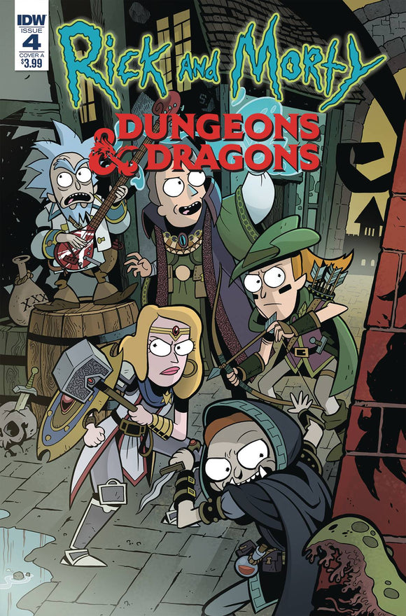 Rick & Morty Vs Dungeons & Dragons (2018) #4 (CVR A LITTLE)