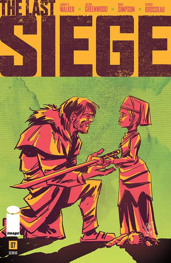 Last Siege (2018) #7 (CVR B HERO INITIATIVE VARIANT)