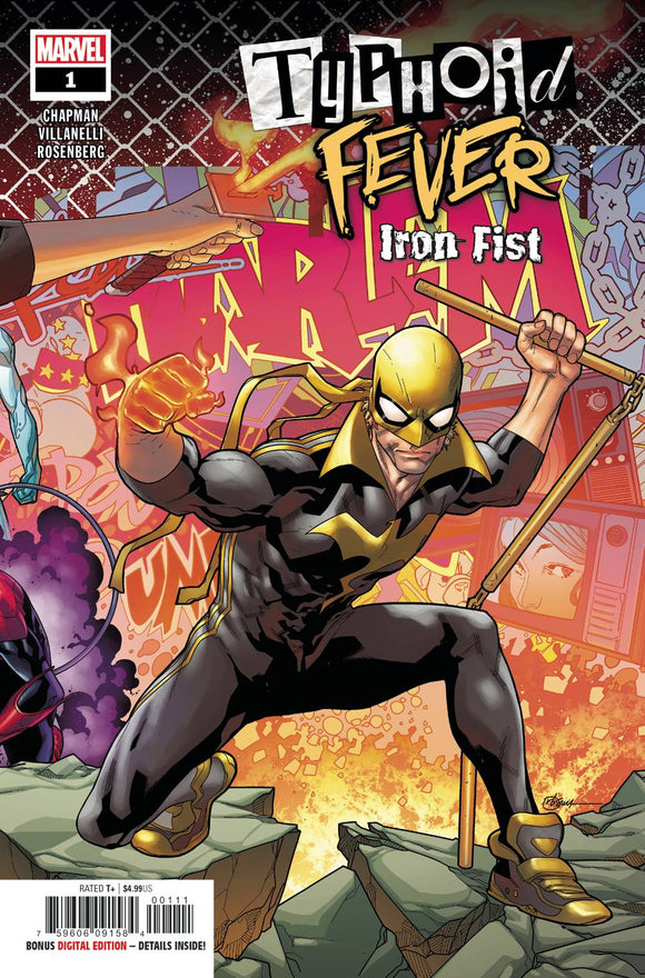 Typhoid Fever Iron Fist (2018) #1