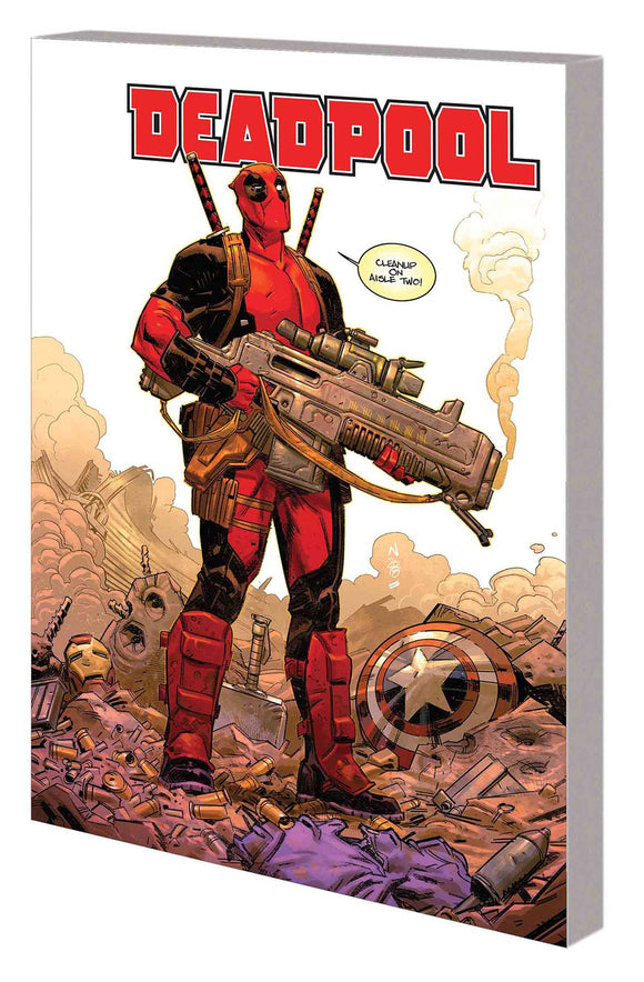 Deadpool Skottie Young TP Volume 1 (MERCIN HARD FOR MONEY)