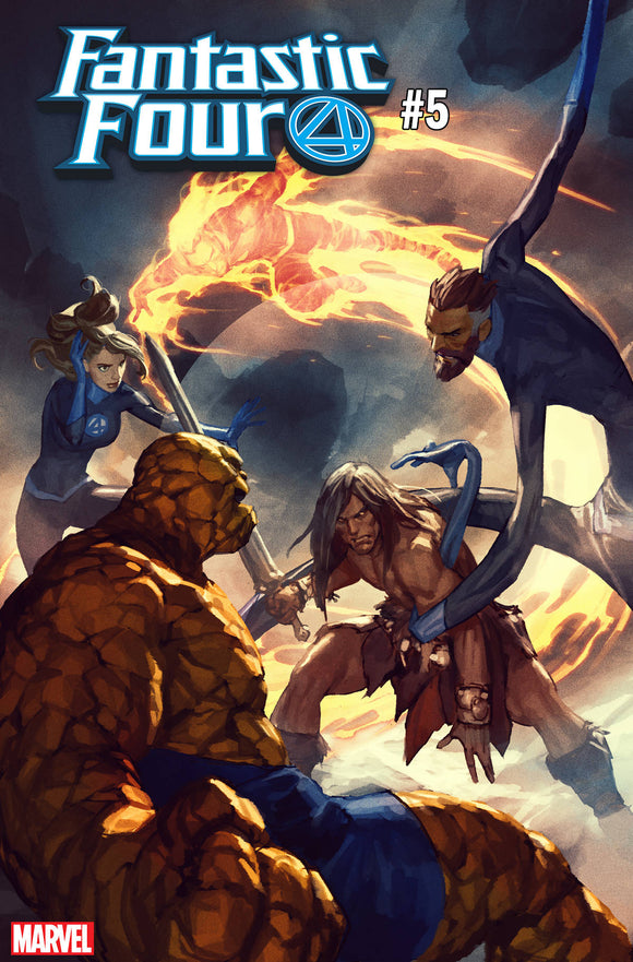 Fantastic Four (2018) #5 (CONAN VS MARVEL VARIANT)