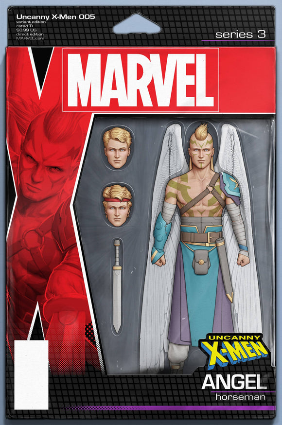 Uncanny X-Men (2018) #5 (CHRISTOPHER ACTION FIGURE VARIANT)