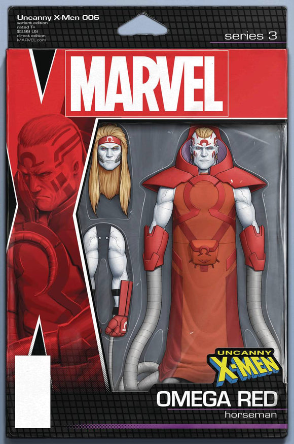 Uncanny X-Men (2018) #6 (CHRISTOPHER ACTION FIGURE VARIANT)