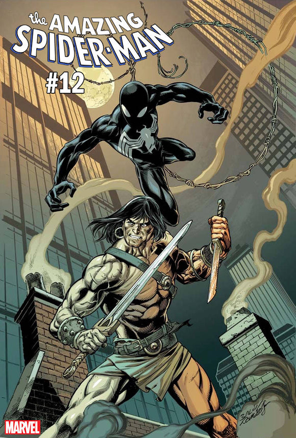 Amazing Spider-Man (2018) #12 (CONAN VS MARVEL VARIANT)