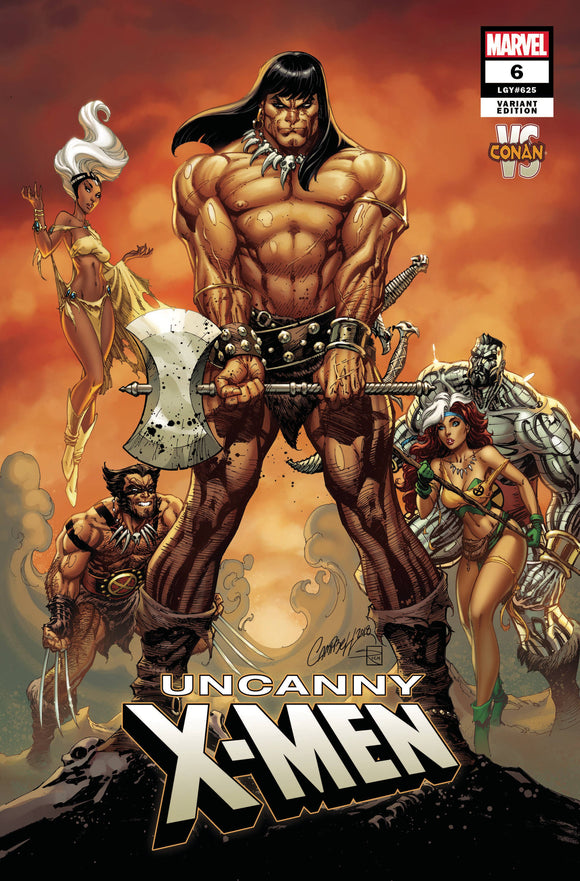 Uncanny X-Men (2018) #6 (JSC CONAN VS MARVEL VARIANT)