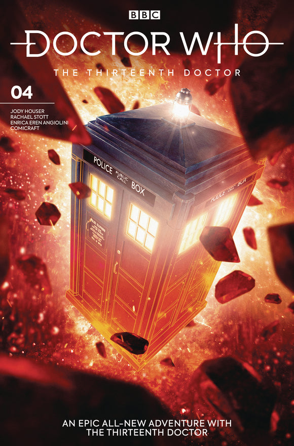 Doctor Who 13th (2018) #4 (Cover B Brooks)