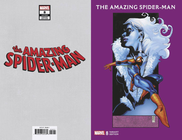 Amazing Spider-Man (2018) #8 (JG Jones Black Cat Variant)