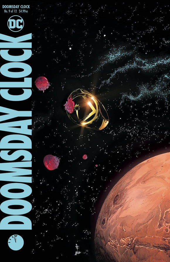 Doomsday Clock (2017) #9
