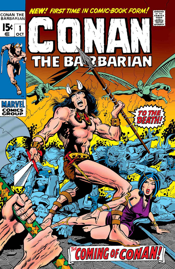 TRUE BELIEVERS CONAN THE BARBARIAN #1