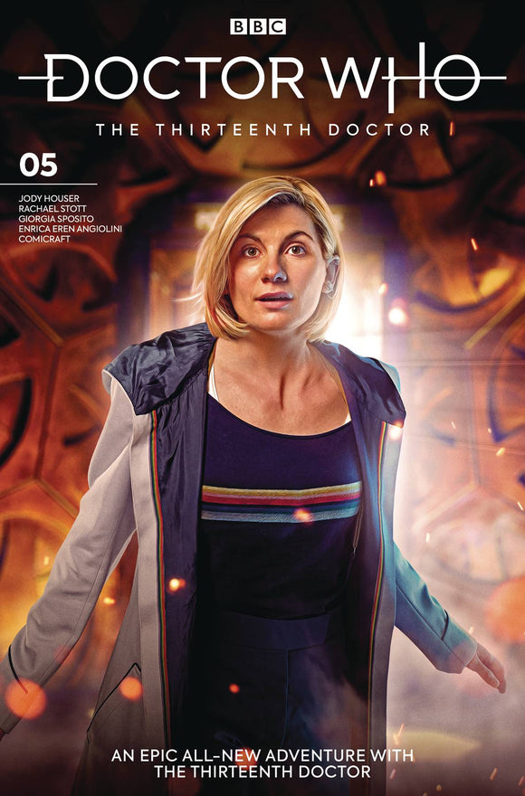 Doctor Who 13th (2018) #5 (COVER B PHOTO)