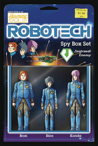 Robotech (2017) #17 (COVER B ACTION FIGURE VAR)