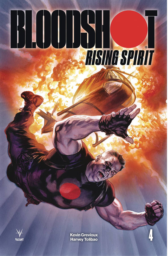 Bloodshot Rising Spirit (2018) #4 (COVER A MASSAFERA)