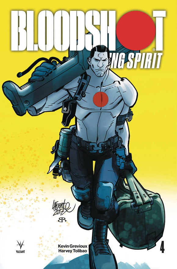 Bloodshot Rising Spirit (2018) #4 (COVER B LAFUENTE)