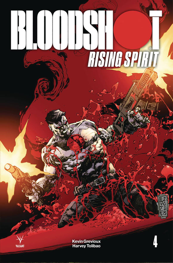 Bloodshot Rising Spirit (2018) #4 (1:20 INCV BATTLE)