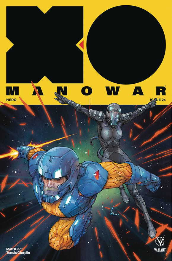 X-O Manowar (2017) #24 (COVER A ROCAFORT)