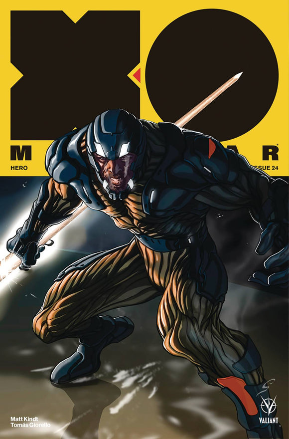 X-O Manowar (2017) #24 (COVER B WILLIAMSON)