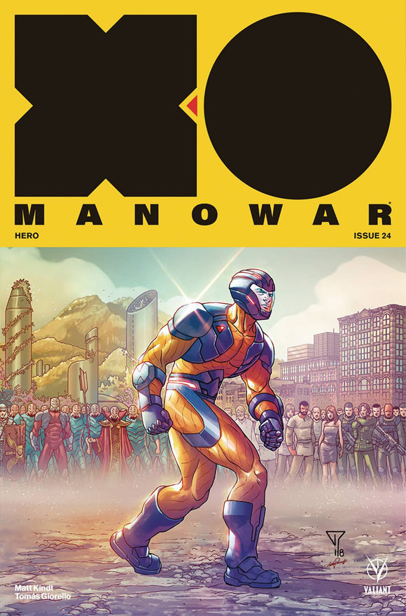 X-O Manowar (2017) #24 (1:20 INCV PORTELA INTERLOCKING)