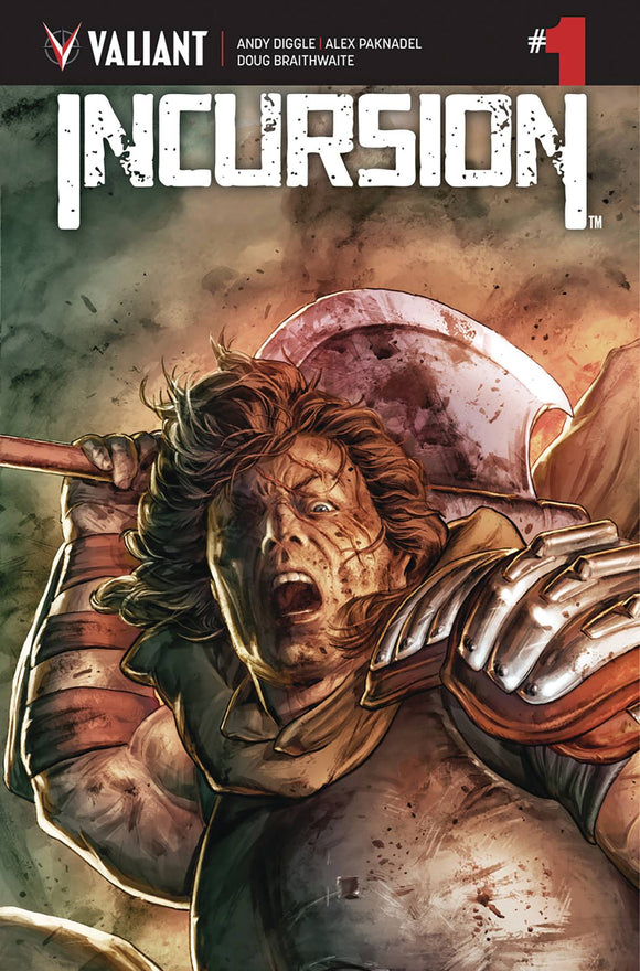 Incursion (2019) #1 (COVER A BRAITHWAITE)
