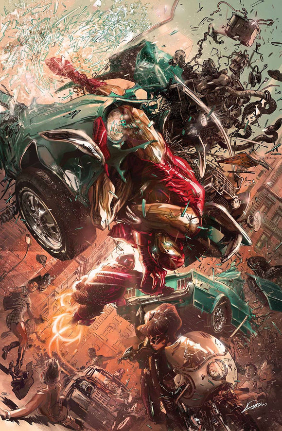 Tony Stark Iron Man (2018) #9