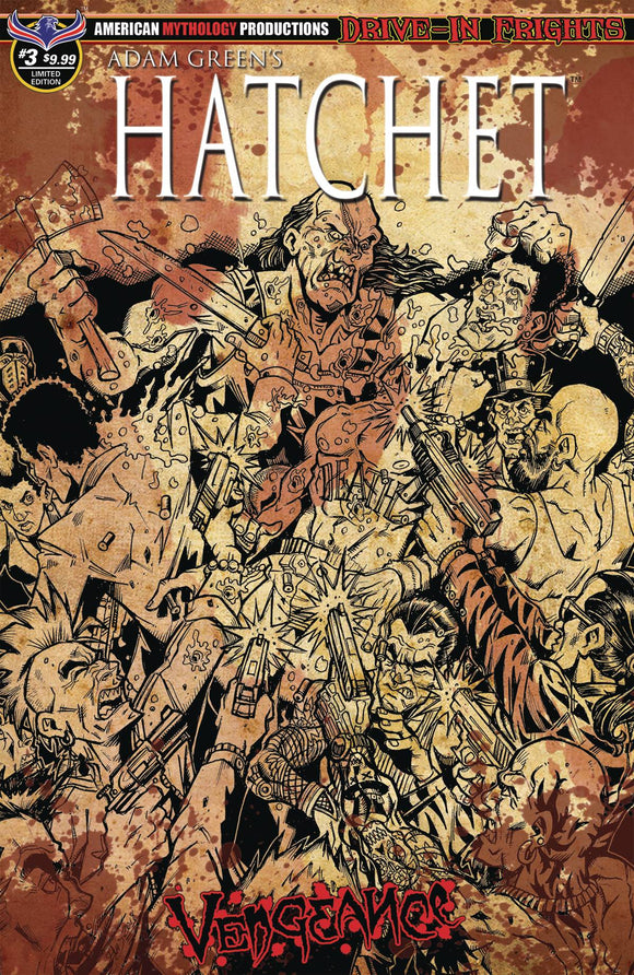 Hatchet Vengeance (2019) #3 (BLOODY HORROR LTD ED CVR)