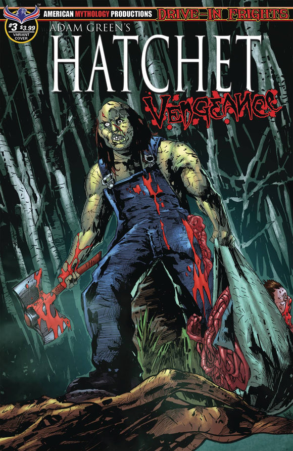 Hatchet Vengeance (2019) #3 (MANDIR SWAMP KILL CVR)