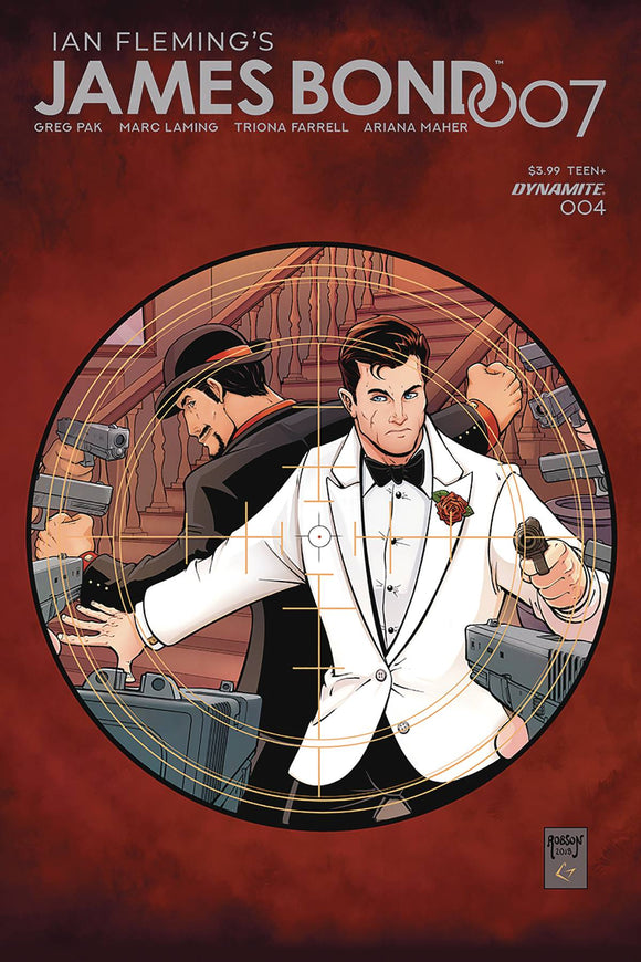 James Bond 007 (2018) #4 (COVER B ROBSON)