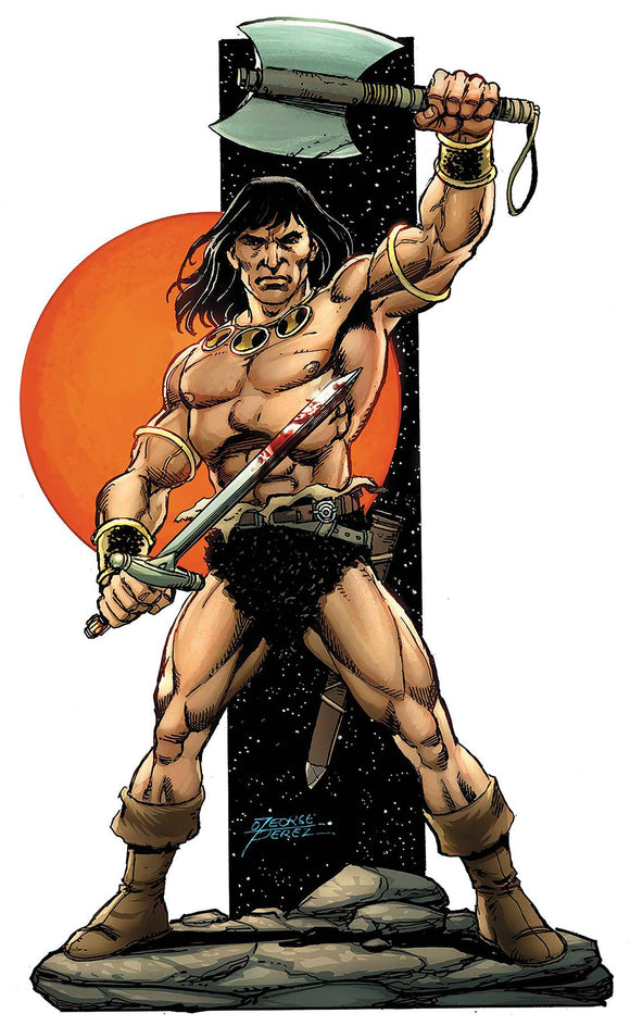 Savage Sword of Conan (2019) #1 (PEREZ VAR)