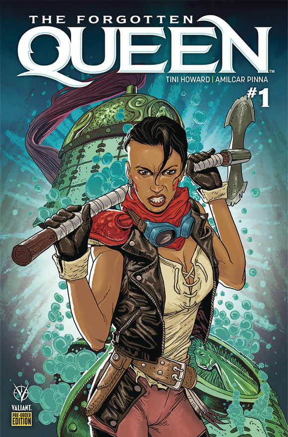 Forgotten Queen (2019) #1 (COVER F PREORDER EDITION)
