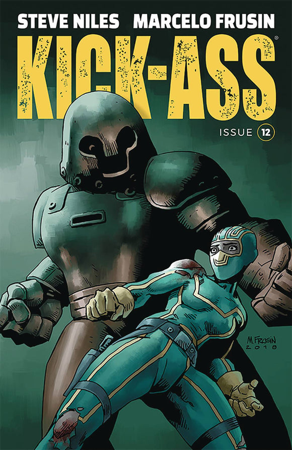 Kick-Ass (2018) #12 (COVER A FRUSIN)