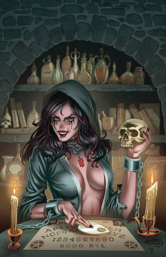 Grimm Fairy Tales Tales of Terror (2018) #12 (COVER C REYES)