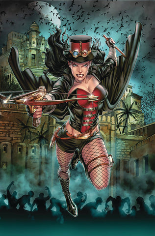 Van Helsing Sword of Heaven (2018) #4 (COVER A VITORINO)