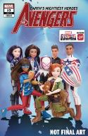 Avengers (2018) #12 (Marvel Rising Action Doll Homage Variant)