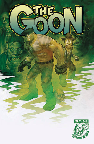 GOON (2019) #1 (head sketch & signed by Eric Powell at Retailer Summit)