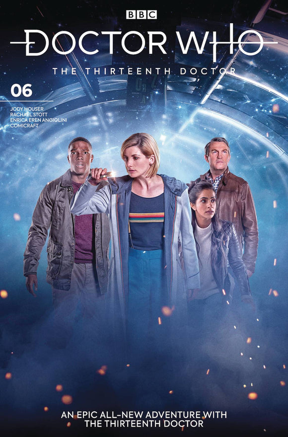 Doctor Who 13th (2018) #6 (COVER B PHOTO)