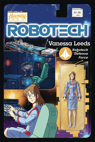 Robotech (2017) #18 (COVER B ACTION FIGURE VAR)