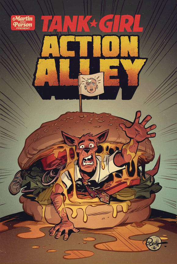 Tank Girl Action Alley (2018) #4 (COVER A PARSON)