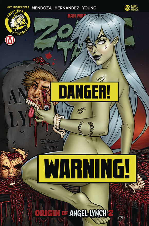 Zombie Tramp (2014) #58 (COVER D MCKAY RISQUE LTD ED)