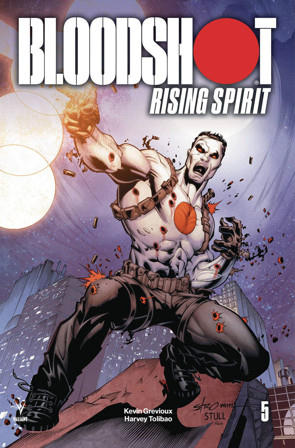 Bloodshot Rising Spirit (2018) #5 (COVER C STROMAN)