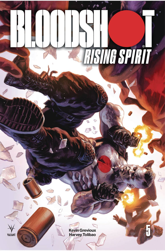Bloodshot Rising Spirit (2018) #5 (COVER A MASSAFERA)