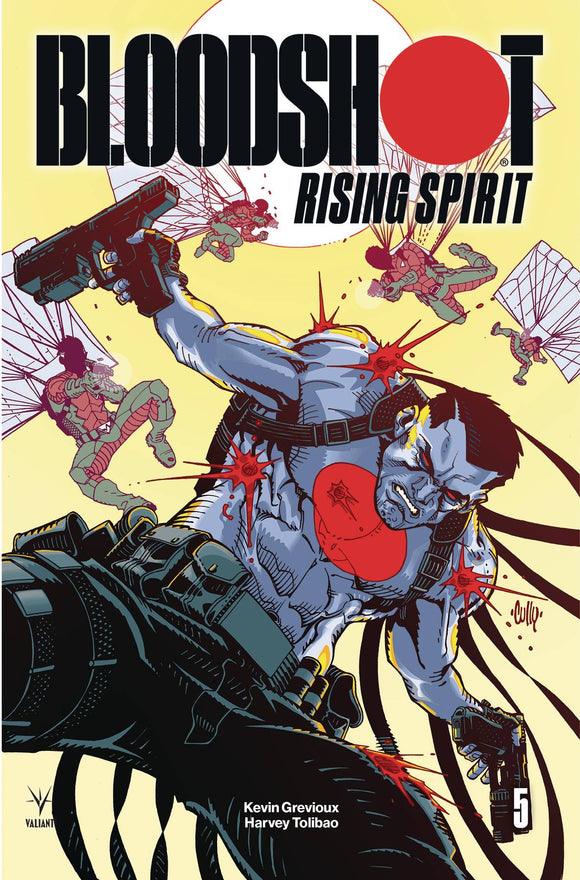 Bloodshot Rising Spirit (2018) #5 (COVER B HAMNER)