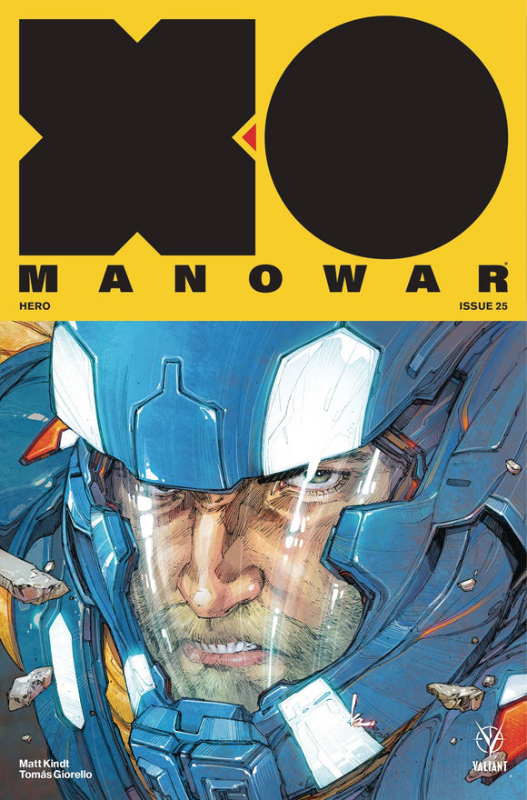 X-O Manowar (2017) #25 (COVER A ROCAFORT)