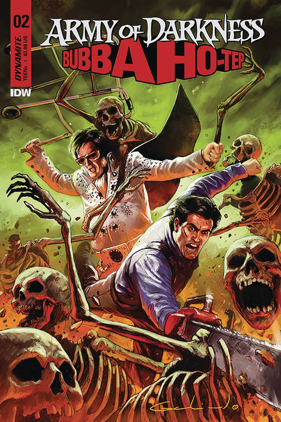 Army of Darkness Bubba Hotep (2019) #2 (COVER A GALINDO)