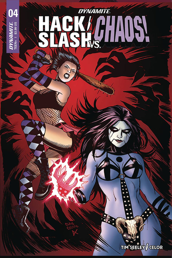Hack Slash Vs Chaos (2018) #4 (COVER B CERMAK)
